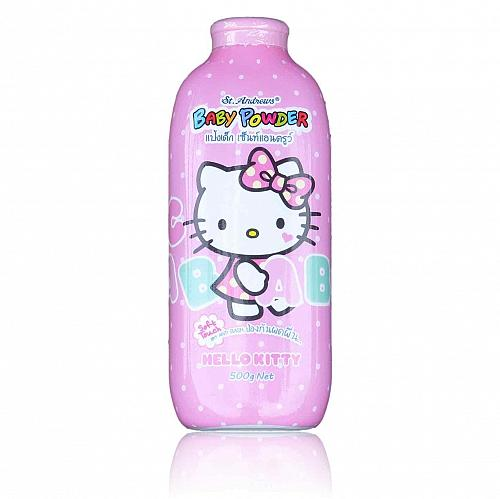 St. Andrews Baby Powder Soft Touch Anti Rash Hello Kitty 500 grams