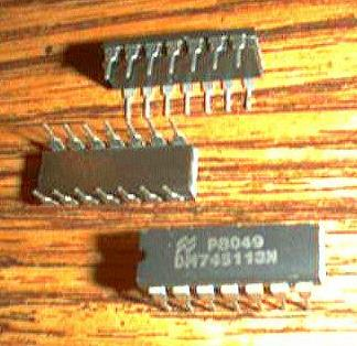 Lot of 12: National Semiconductor DM74S113N