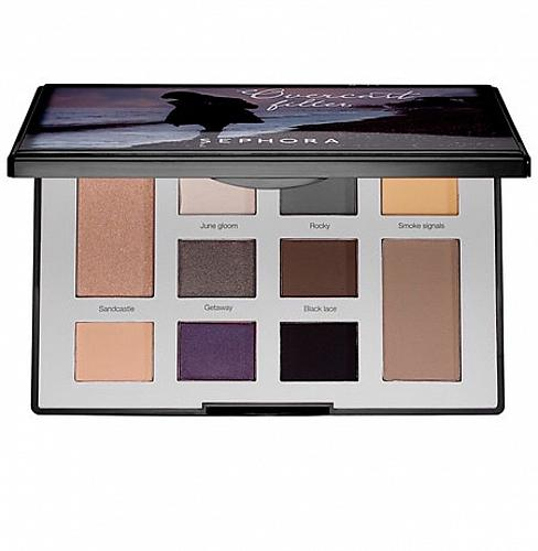 Sephora Overcast Filter Colorful Eyeshadow Palette - New in box + Samples