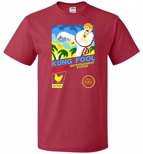 Kung Fool Nintendo Cover Parody Adult Unisex T-Shirt Pop Culture Graphic Tee (6XL/Tru