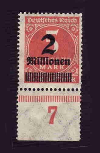 German MNH Scott #272 Catalog Value $.38