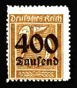 German MNH Scott #274 Catalog Value $.38