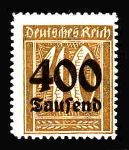 German MNH Scott #276 Catalog Value $.38