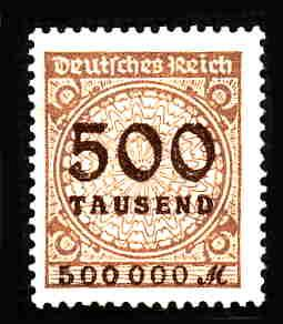 German MNH Scott #280 Catalog Value $.63