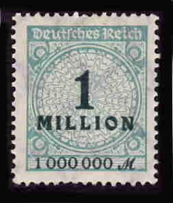 German MNH Scott #281 Catalog Value $.63