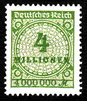 German MNH Scott #284 Catalog Value $.63