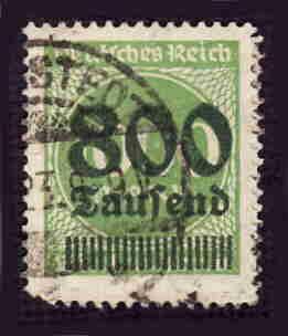 German Used Scott #268 Catalog Value $1.50