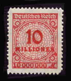 German MNH Scott #286 Catalog Value $.63