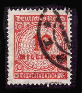 German Used Scott #286 Catalog Value $1.50
