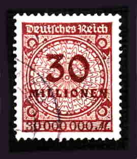 German Used Scott #288 Catalog Value $9.25