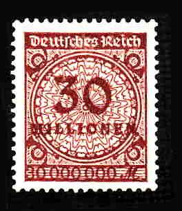 German MNH Scott #288 Catalog Value $.63