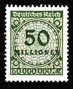 German MNH Scott #289 Catalog Value $.63