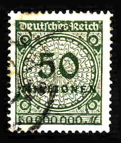 German Used Scott #289 Catalog Value $1.90