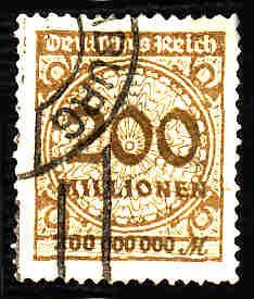 German Used Scott #291 Catalog Value $1.50