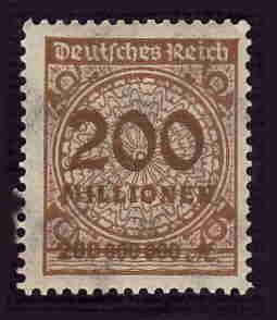 German MNH Scott #291 Catalog Value $.63