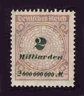 German MNH Scott #295 Catalog Value $.63