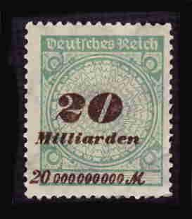 German MNH Scott #298 Catalog Value $.63