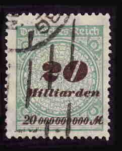 German Used Scott #298 Catalog Value $1.90