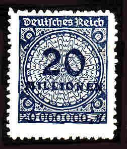 German MNH Scott #302 Catalog Value $1.52