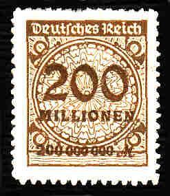 German MNH Scott #304 Catalog Value $1.52