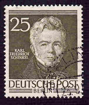 German Berlin Used Scott #9N91 Catalog Value $5.00