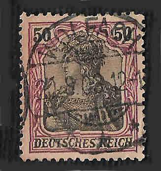 German Used Scott #73 Catalog Value $1.10