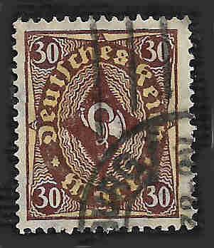 German Used Scott #183 Catalog Value $1.50