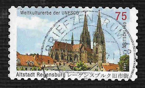 German Used Scott #2612 Catalog Value $1.10