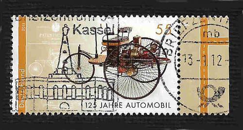 German Used Scott #2620 Catalog Value $.80