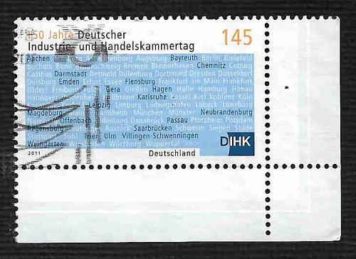 German Used Scott #2622 Catalog Value $2.10