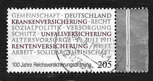German Used Scott #2623 Catalog Value $3.00