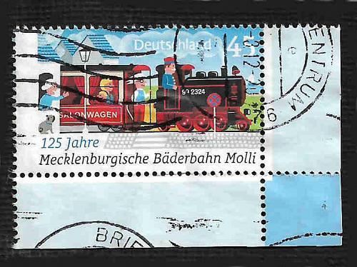 German Used Scott #2624 Catalog Value $.70