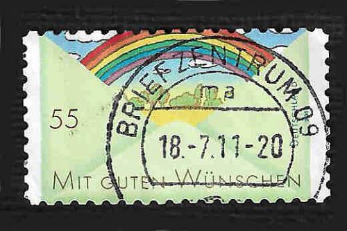 German Used Scott #2606 Catalog Value $.75
