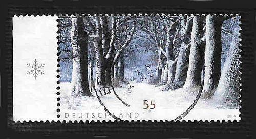 German Used Scott #2301 Catalog Value $.80