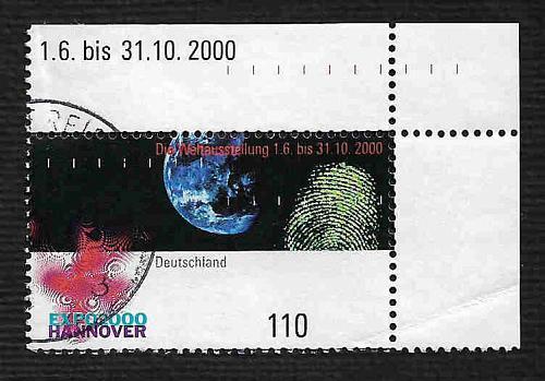 German Used Scott #2094 Catalog Value $.85