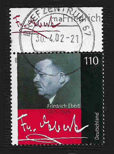 German Used Scott #2069 Catalog Value $.85