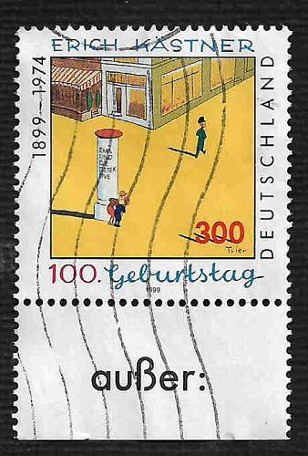 German Used Scott #2028 Catalog Value $2.40