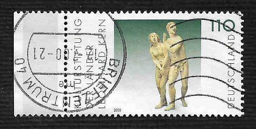 German Used Scott #2081 Catalog Value $1.05