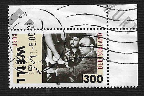 German Used Scott #2071 Catalog Value $2.40