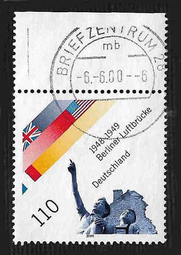 German Used Scott #2038 Catalog Value $.85