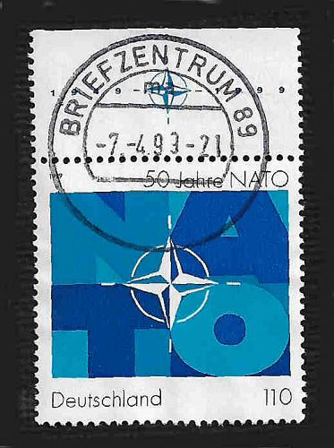 German Used Scott #2032 Catalog Value $.85
