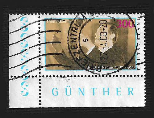 German Used Scott #2021 Catalog Value $2.25