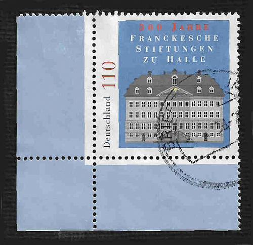 German Used Scott #2020 Catalog Value $.75