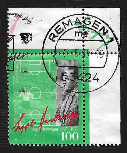German Used Scott #1953 Catalog Value $.70