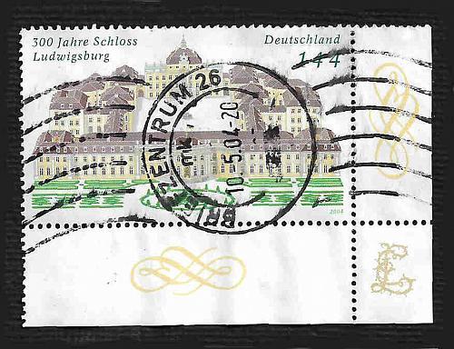 German Used Scott #2285 Catalog Value $1.50