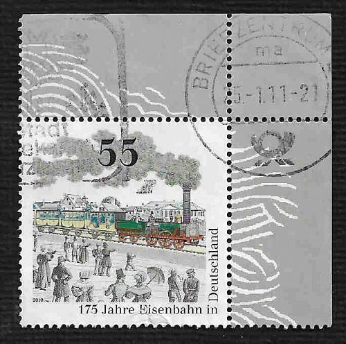 German Used Scott #2598 Catalog Value $.75