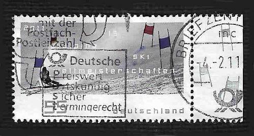 German Used Scott #2599 Catalog Value $.75