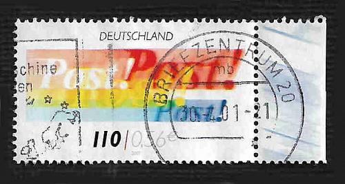 German Used Scott #2122 Catalog Value $.75