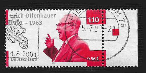 German Used Scott #2117 Catalog Value $.75