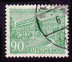 German Used Scott #9N56 Catalog Value $.90